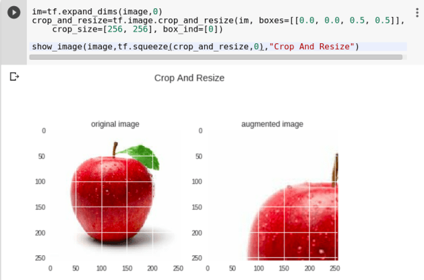 TensorFlow Image Augmentation using tf image - knowledge