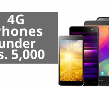 Best 4G Mobile Phones Under 5,000 Rs | India (May 2016) [Hindi]