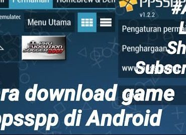 Cara download game ppsspp di Android
