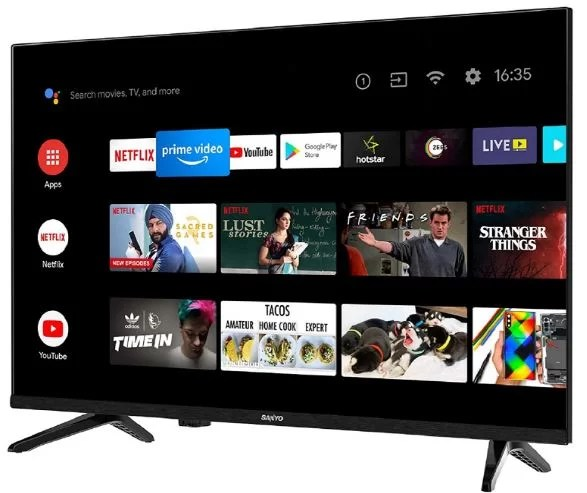 Sanyo 32 inches Kaizen Series HD Ready Smart Certified Android IPS LED TV XT-32A170H