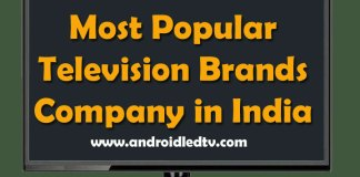 Television Brands in India
