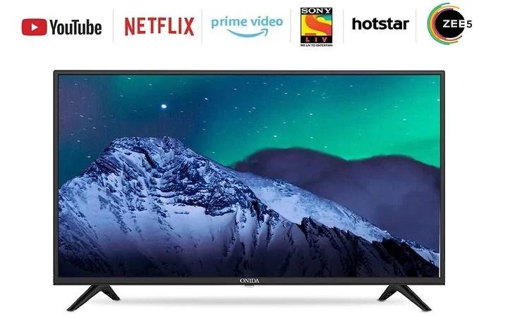 Onida 109 cm (43 Inches) Full HD Smart IPS LED TV – Fire TV Edition (Black)