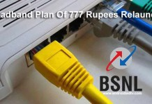 Bsnl Broadband Plan Of 777 Rupees Relaunched