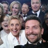Von Samsung gesponserter Oscar-Selfie bricht Twitter-Weltrekord