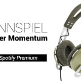 Gewinne einen Spotify-Premium-Account und Sennheiser Momentum-Kopfhörer