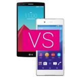 LG G4 vs. Sony Xperia Z4 – vier gegen vier