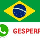 Kein WhatsApp mehr: Brasilianische Justiz ordnet WhatsApp-Sperre an