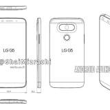 Skizze soll Design vom LG G5 zeigen – Randloses Display und Lautstärkewippe auf der Seite