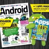 Android Magazin Gewinnspiel – 1 von 3 Jahresabos gewinnen