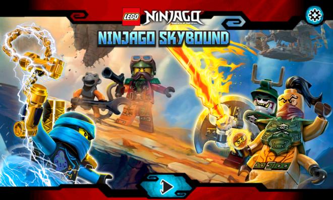 Lego Ninjago Skybound - Titelbild