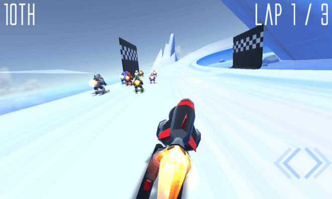 Rocket Ski Racing - 01