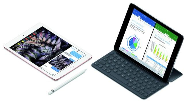 Das Tablet iPad Pro ist nun auch in einer kleineren Ausführung mit 9,7-Zoll-Bildschirm erhältlich. (Foto: Apple)