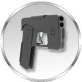 Diese Pistole tarnt sich als Smartphone
