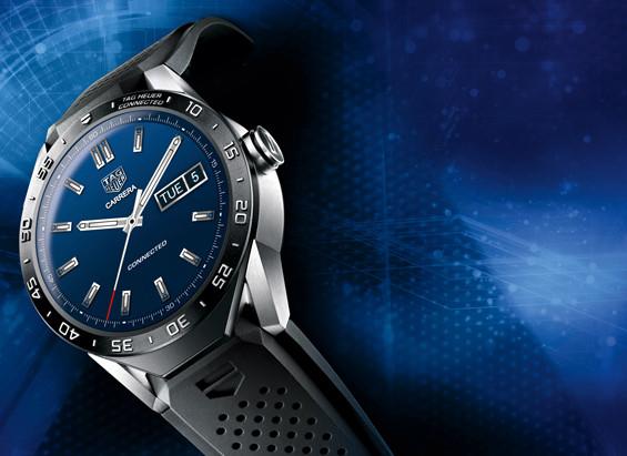 Die Smartwatch Connected von TAG Heuer ist das meistverkaufte Modell in der Geschichte des Unternehmens. (Foto: TAG Heuer)
