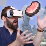 """Minecraft ist ab sofort in einer Version für die Virtual-Reality-Lösung """"Gear VR"""" erhältlich"""