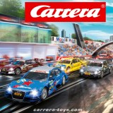 Hol dir die Carrera-Bahn DIGITAL 132 samt Zubehör in dein Wohnzimmer!