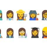 Google will 13 neue Emojis mit arbeitenden Frauen bringen