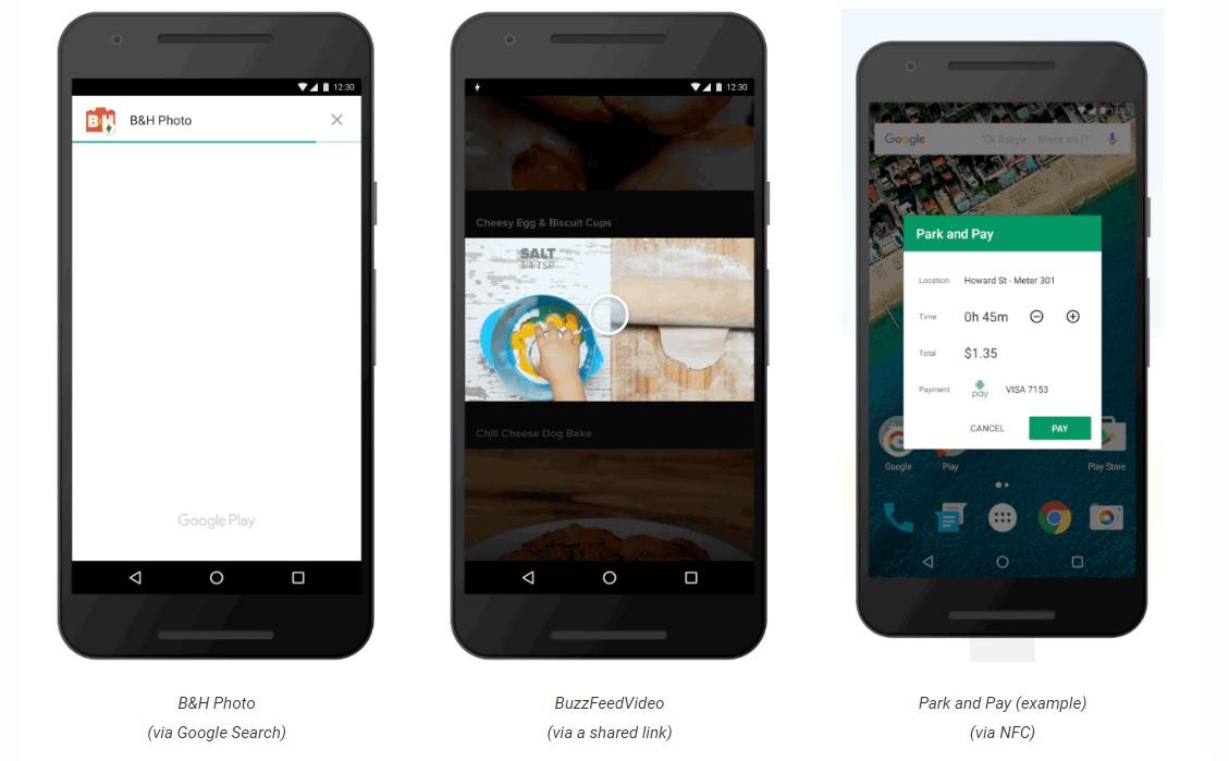 instant apps google streamt teile von anwendungen auf das smartphone androidmag. Black Bedroom Furniture Sets. Home Design Ideas