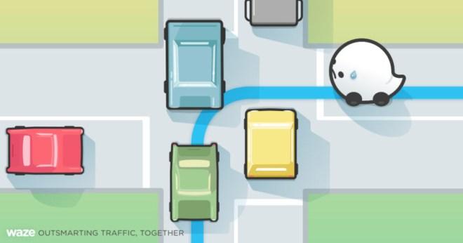 Die Navi-App Waze warnt vor gefährlichen Straßenabschnitten (Foto: Waze)