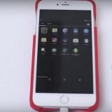 Spezielles Case bringt Android auf iPhones