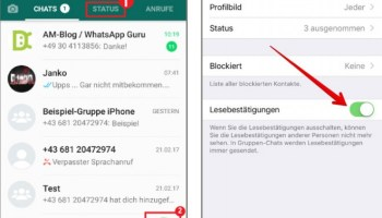 Fotos Und Videos Als Whatsapp Statusmeldungen So