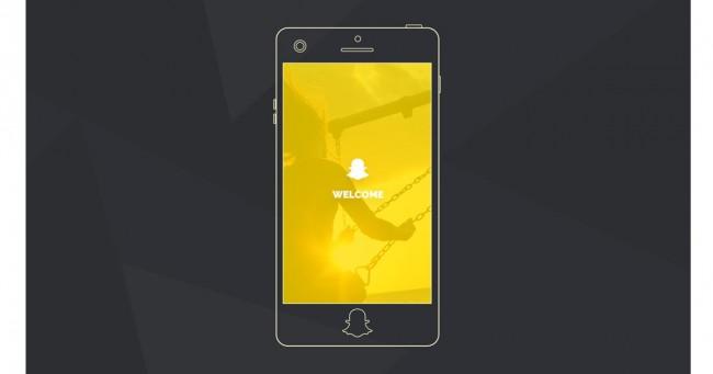 So könnte ein Snapchat-Smartphone aussehen (Bild: Mediakik)