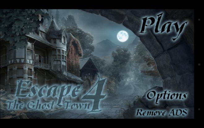 Escape The Ghost Town 4 - Material für Titelbild