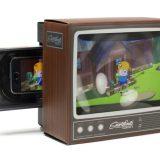 Der Smartphone Magnifier verwandelt Ihr Smartphone in einen (altmodischen) Fernseher!