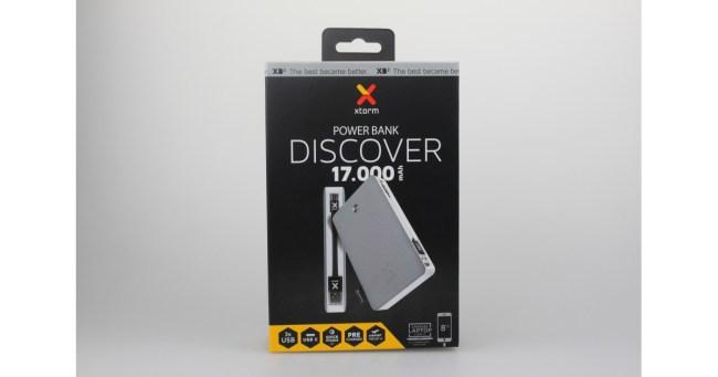"""Die """"Xtorm Power Bank Discover 17.000"""" eignet sich zum Aufladen der Akkus von Smartphones, Tablets, E-Book-Readern, Action-Kameras und anderen Geräten."""