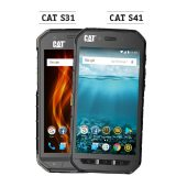 Die Outdoor-Smartphones CAT S31 & CAT S41