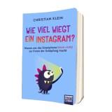 Hörbuch Gewinnspiel: Wie viel wiegt ein Instagram?