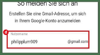 Google Account erstellen 3