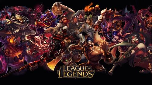 """lol jeu d'equipe league of legends""(CC BY 2.0)bydownloadsource.fr"