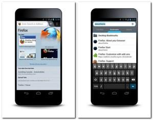 Firefox mobil. Foto: Mozilla