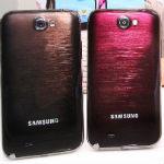Galaxy Note 2 kommt in Braun und Rot