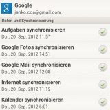 GMail-Account synchronisieren
