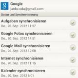 GMail-Account synchronisieren