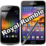 Royal Rumble: Galaxy Note vs. Galaxy S2 vs.Galaxy Nexus