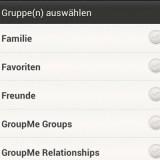 Massen-SMS an Gruppen versenden