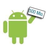 500 Millionen Android Geräte wurden bereits aktiviert