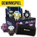 Gewinne Zusatzakkus und Android Sammelfiguren!