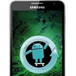 Arbeiten am CyanogenMod 9 für das Galaxy Note haben begonnen