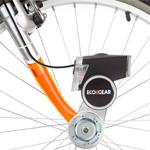 Fahrradbetriebenes Ladegerät für Smartphones