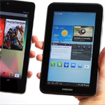 Google Nexus 7 vs Galaxy Tab 2 im Videovergleich