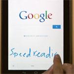 Google-Suche nun auch via Handschrifteingabe möglich