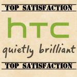 HTC bietet unter allen Android-Herstellern die größte Kundenzufriedenheit