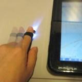 Magic Finger: Der Finger des Users wird zum Eingabegerät