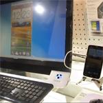 Android Mirror-Kabel überträgt Smartphone-Screen auf PC