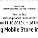 Presse-Event von Samsung am 11. Oktober