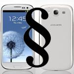 Wurde das Galaxy S3 von Samsungs Rechtsanwälten designt?